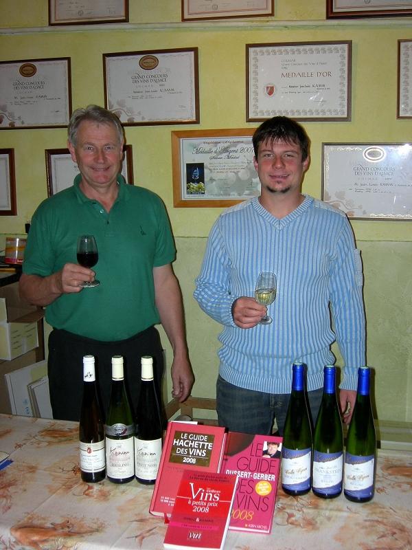 Vins Kamm Jean-Louis et Eric